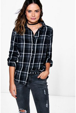 Mandy Oversized Check Shirt