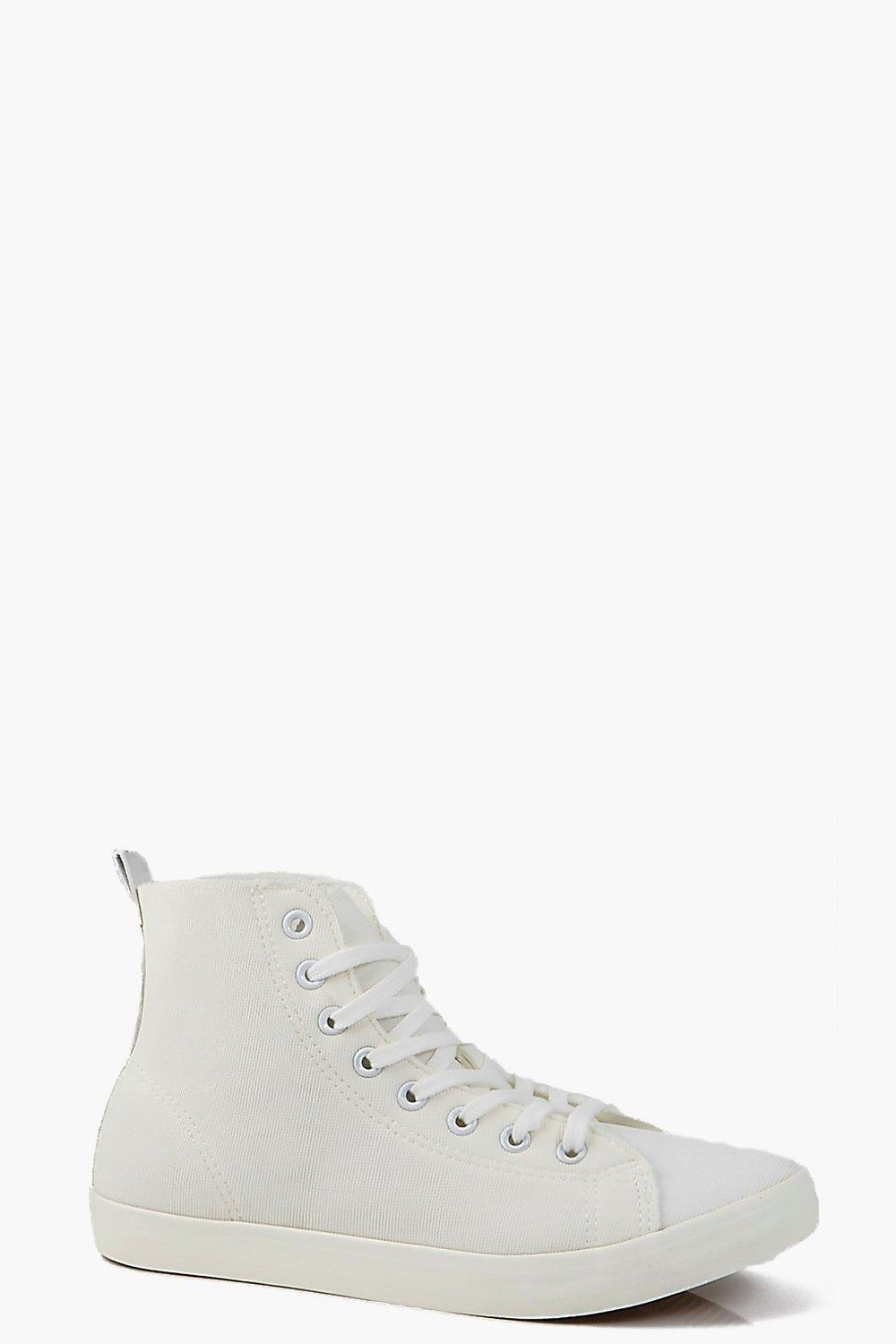 Lily Neoprene Lace Up Hi Top