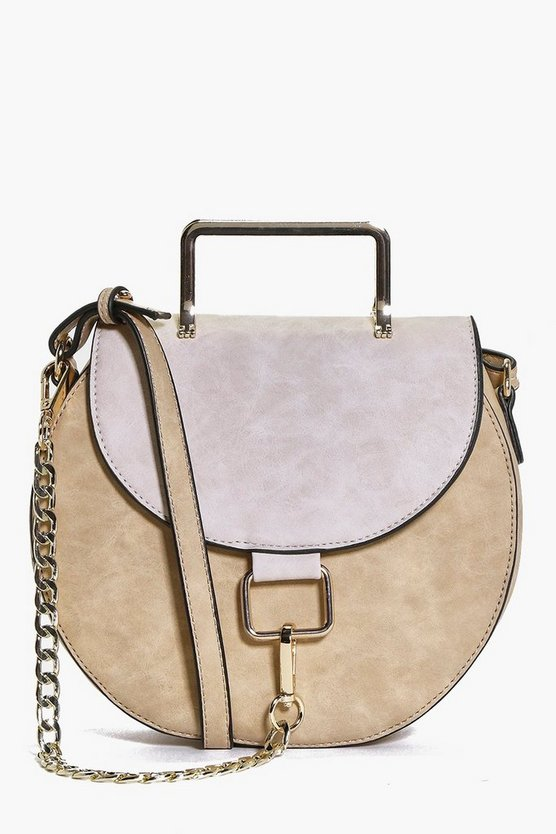 Julia Metal Chain Saddle Bag