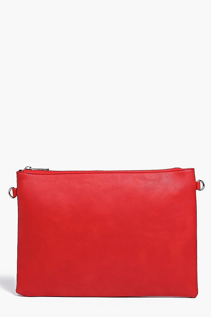 Molly Zip Top Clutch Bag