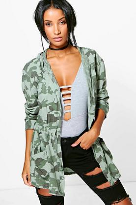 Sophie Camo Lightweight Jacket