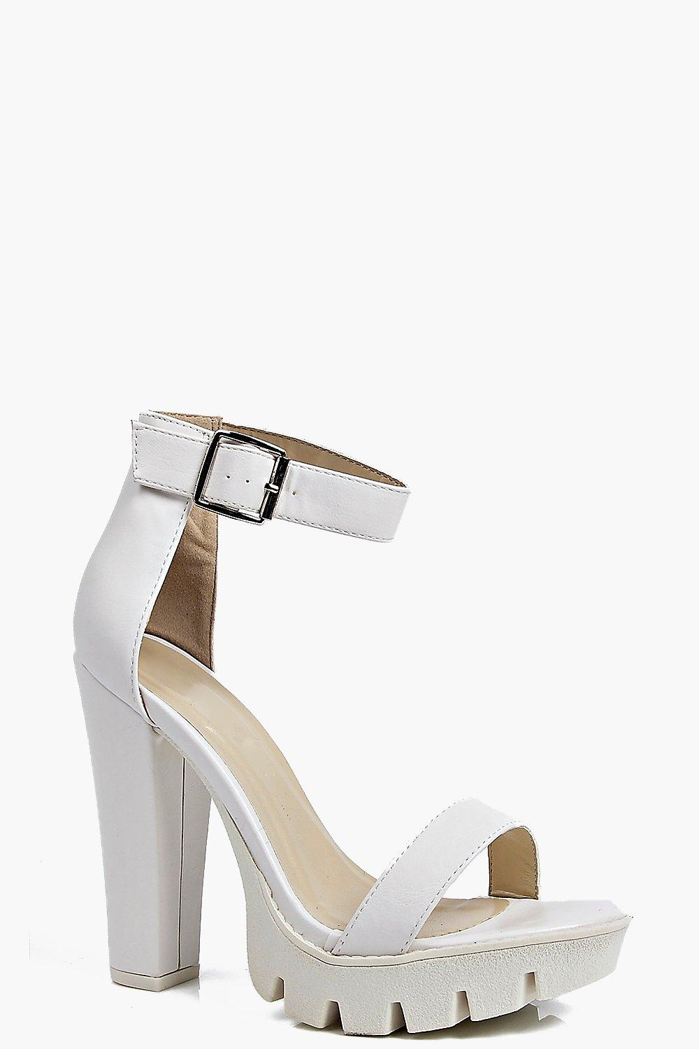 Laura Cleated Platform Heels