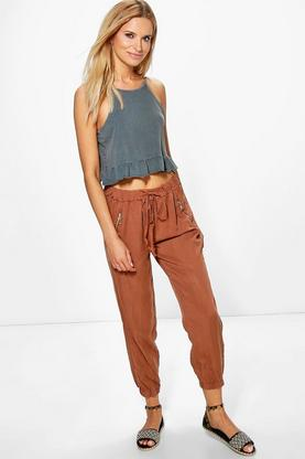 Priya Relaxed Cargo Style Trousers