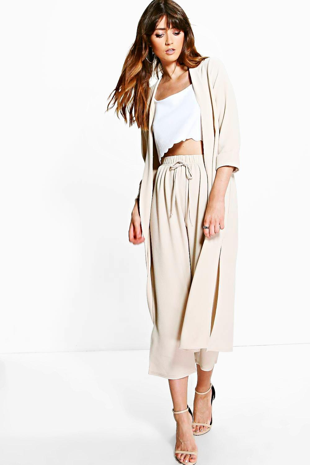 Isabella Crop Woven Trouser