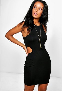 Nina Cut Out Racer Bodycon Dress