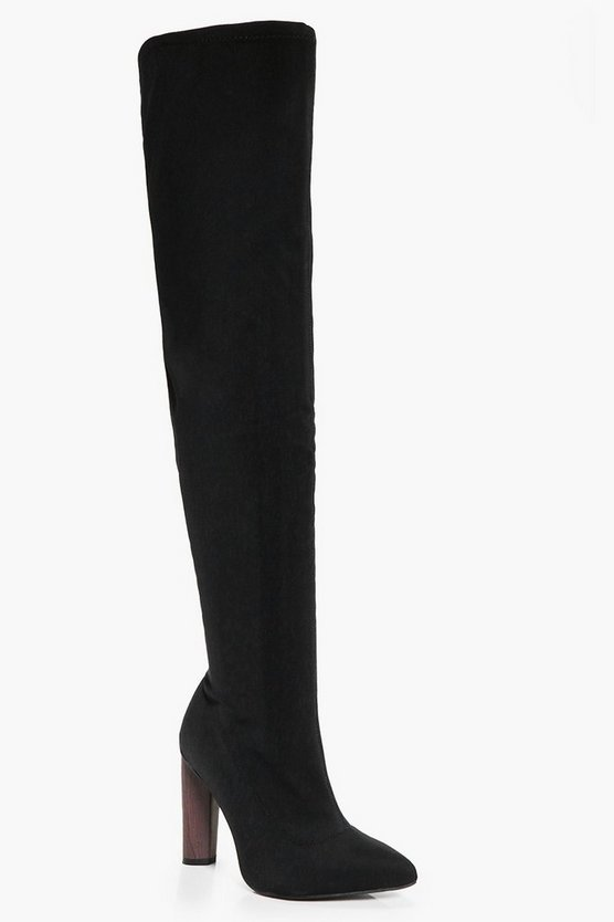 Edith Thigh Stretch Boot