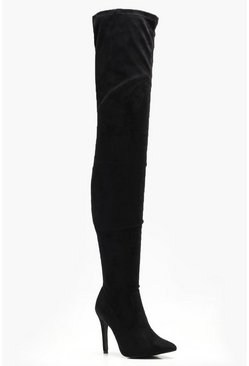 Nicole Thigh High Pointed Boot