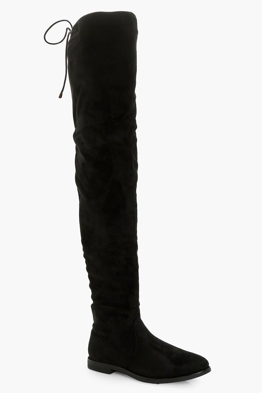 Julia Flat Thigh High Boot