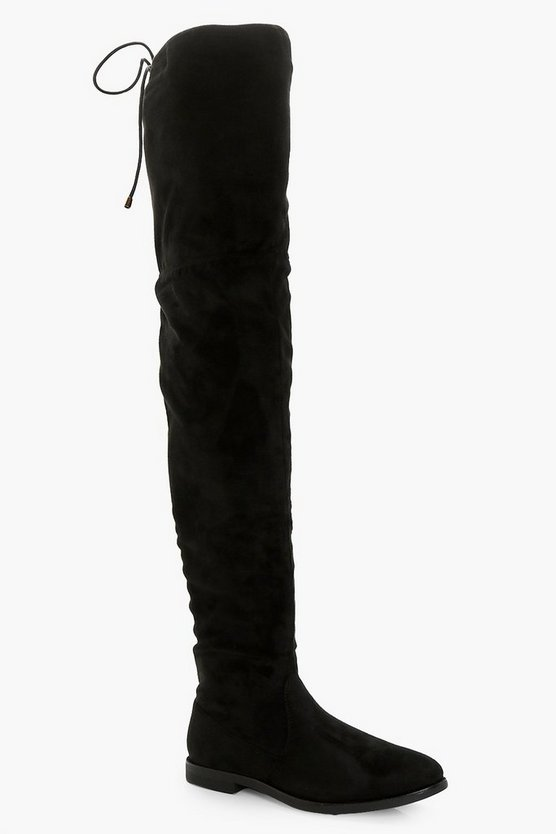 Julia Flat Thigh High Boots