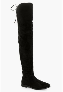Julia Flat Thigh High Boot