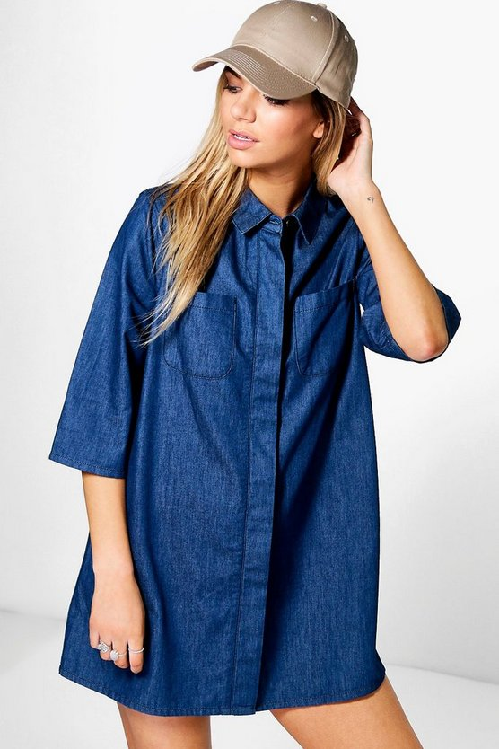 Tabitha Denim Swing Dress