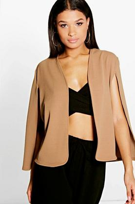 Amber Tailored Cape Blazer
