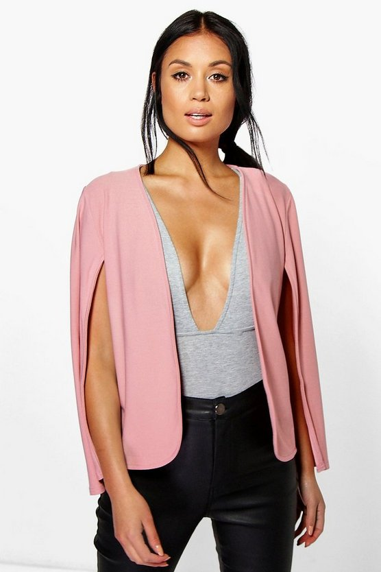 Emilia Tailored Cape Blazer