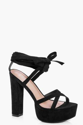 Madeleine Lace Up Platform