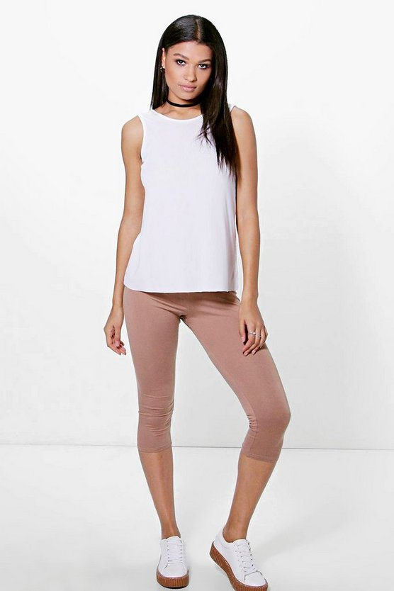 Amari 3/4 Length Basic Leggings
