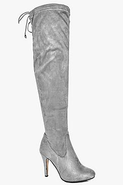 Willow Stiletto Over The Knee Boot
