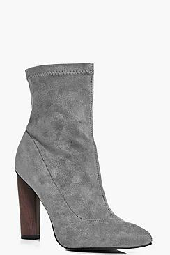 Paige Stretch Sock Boot