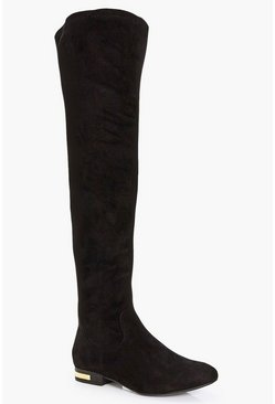 Ellie Flat Over The Knee Boot
