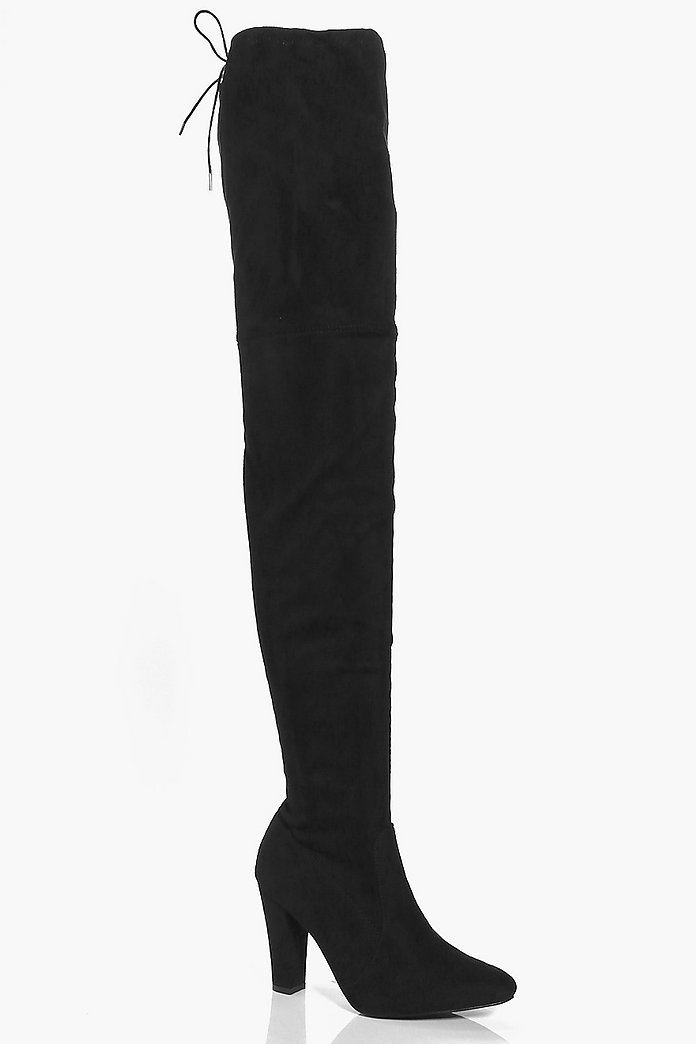 Erin Thigh High Block Heel