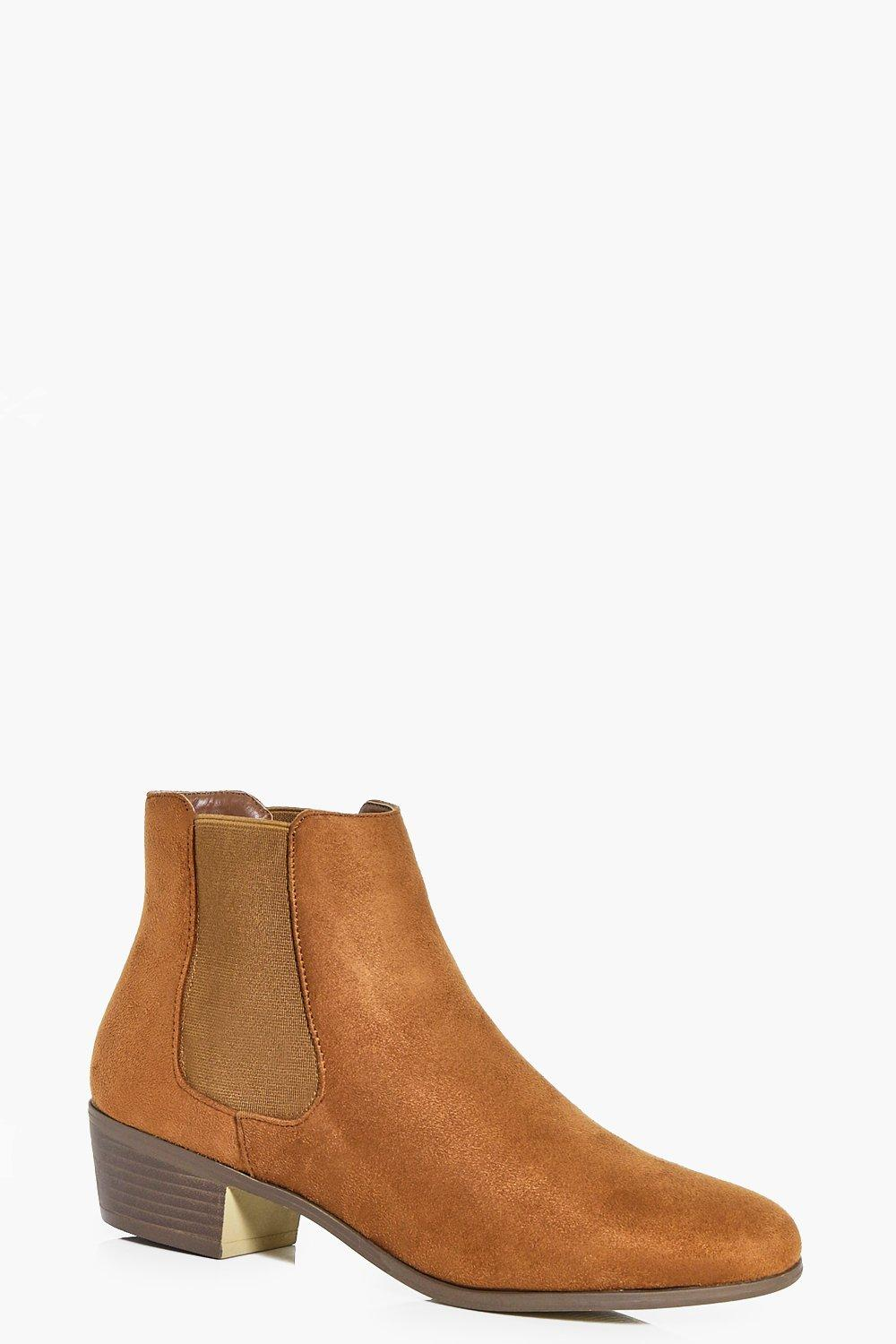 Nancy Elastic Gusset Chelsea Boot