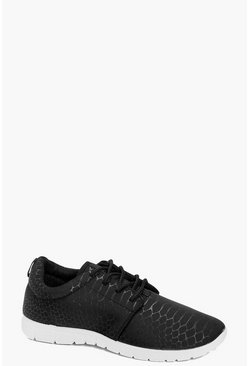 Lois Lace Up Sports Trainer