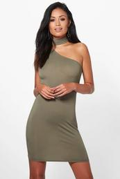 Bodycon Dresses - Red- Midi and Long sleeved - boohoo