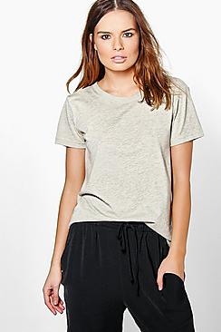 Lois Metallic Cuff T-Shirt