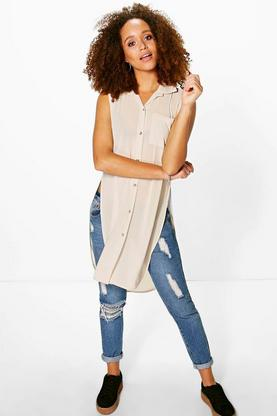Holly Split Side Shirt