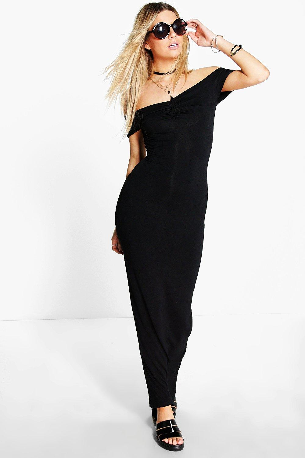 Micha Off Shoulder Maxi Dress