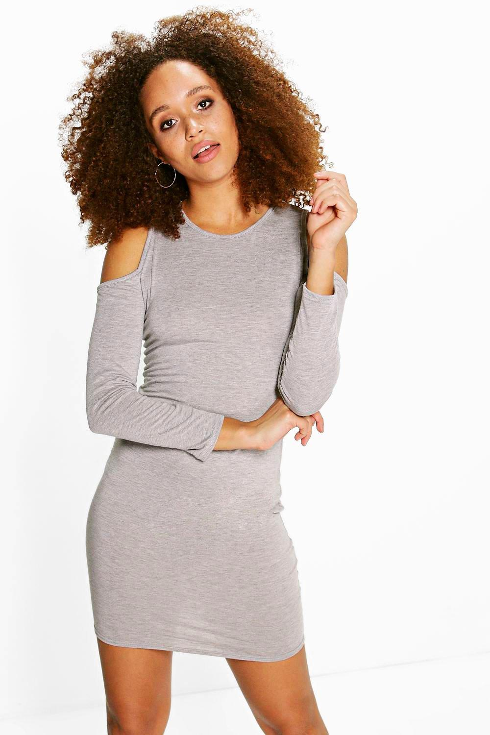 Molly Cold Shoulder Bodycon Dress