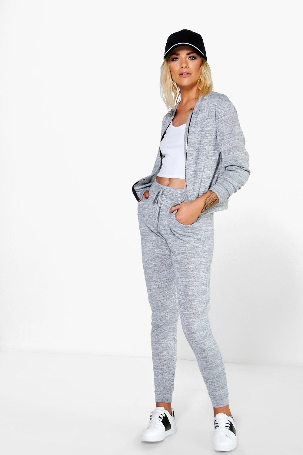 Lola Jogger & Bomber Knitted Loungewear Set