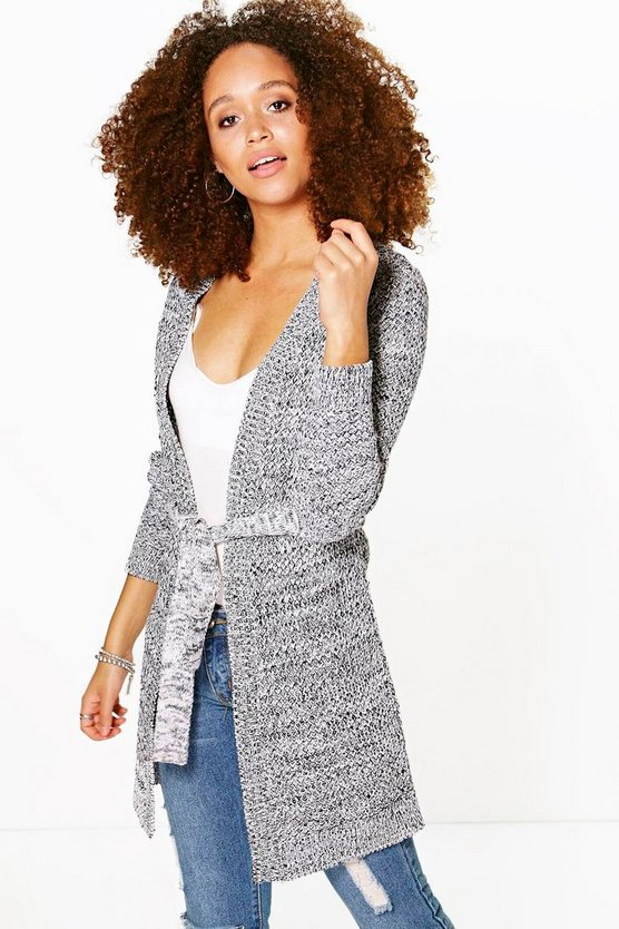 Jasmine Edge To Edge Belted Cardigan