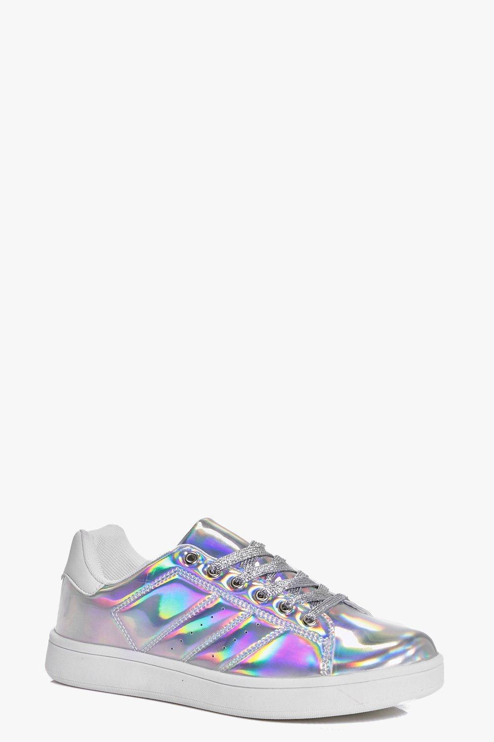 Robyn Glitter Lace Up Trainer