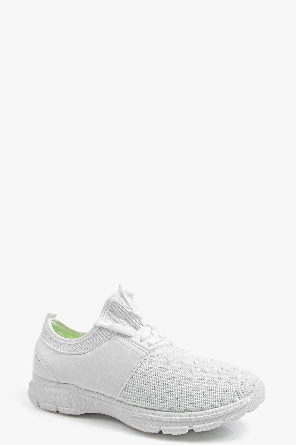 Faye Mesh Lace Up Trainer
