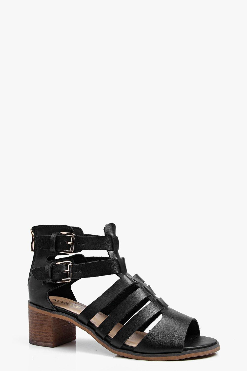 Nancy Cut Work Peeptoe Summer Boot