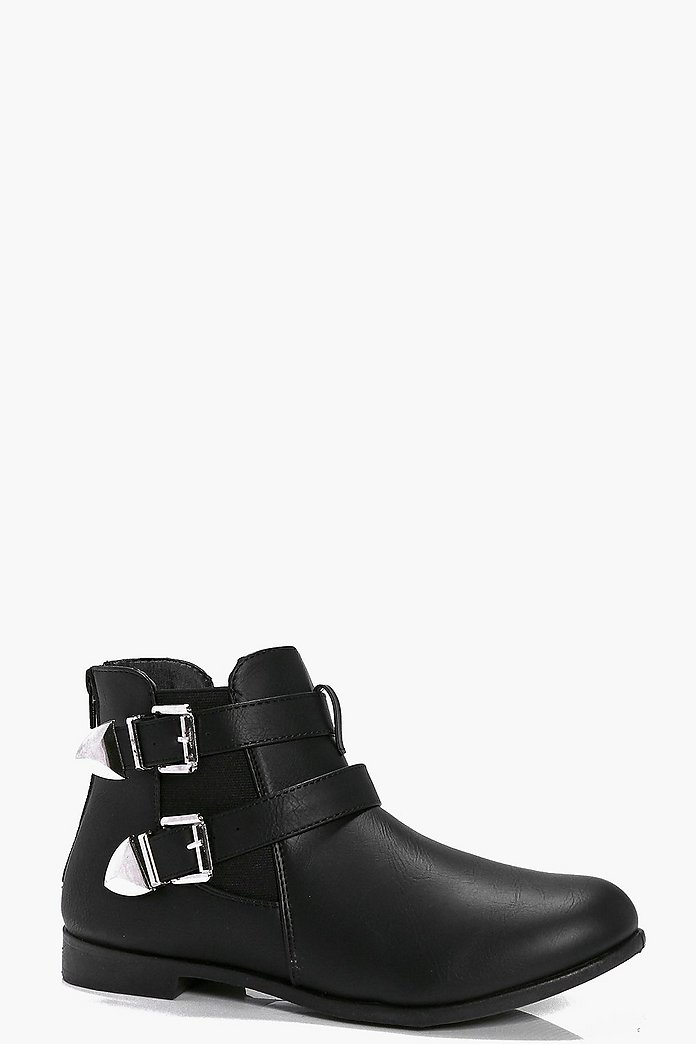 Lizzie Buckle Chelsea Boot