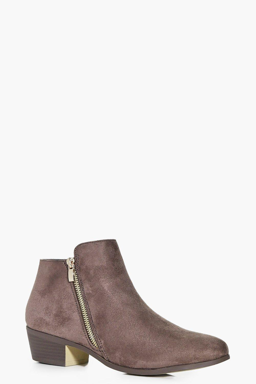Macey Zip Side Chelsea Boot
