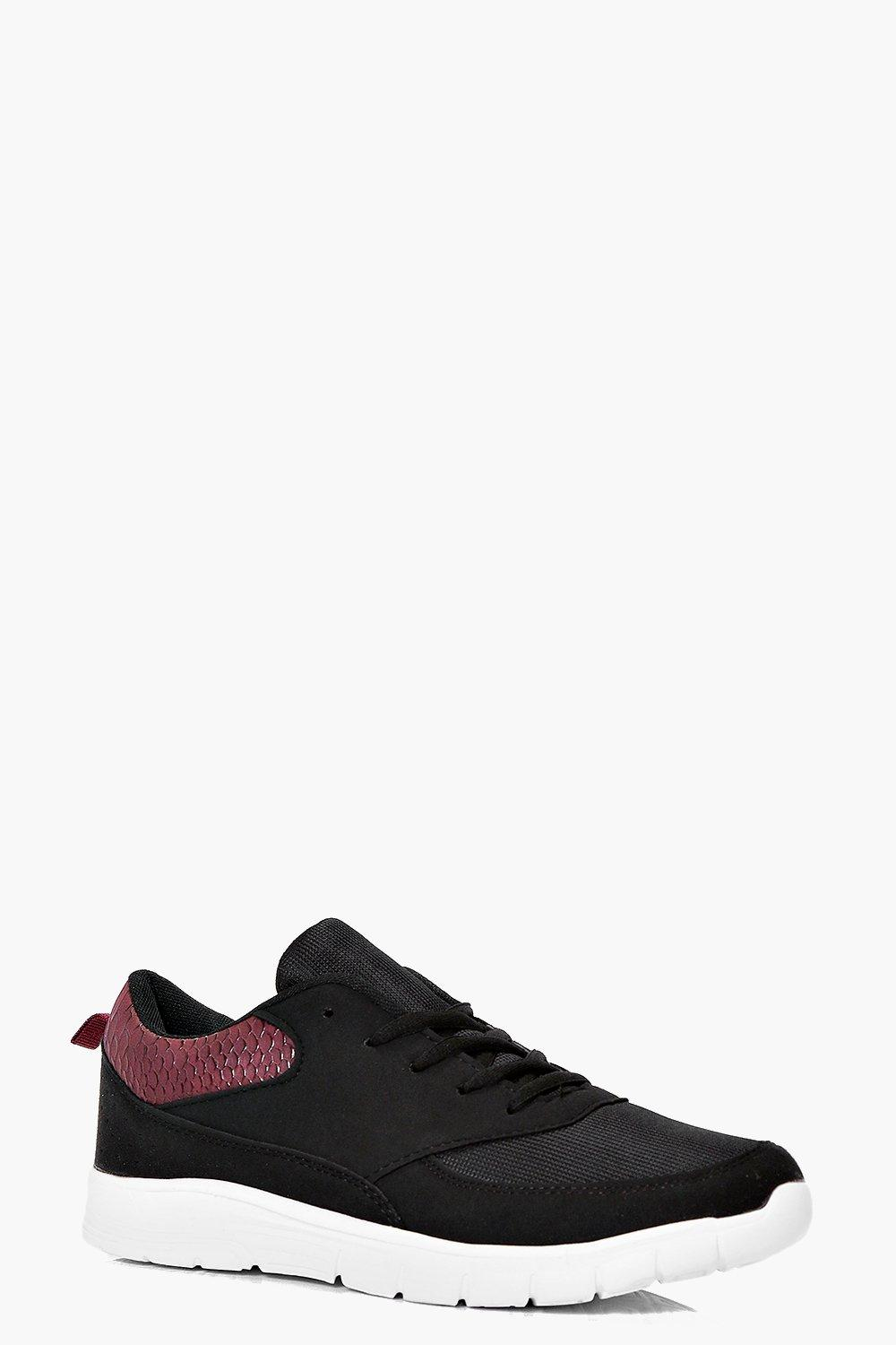 Millie Cleated Lace Up Trainer