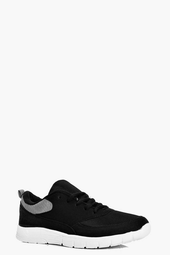 Daisy Cleated Lace Up Trainer