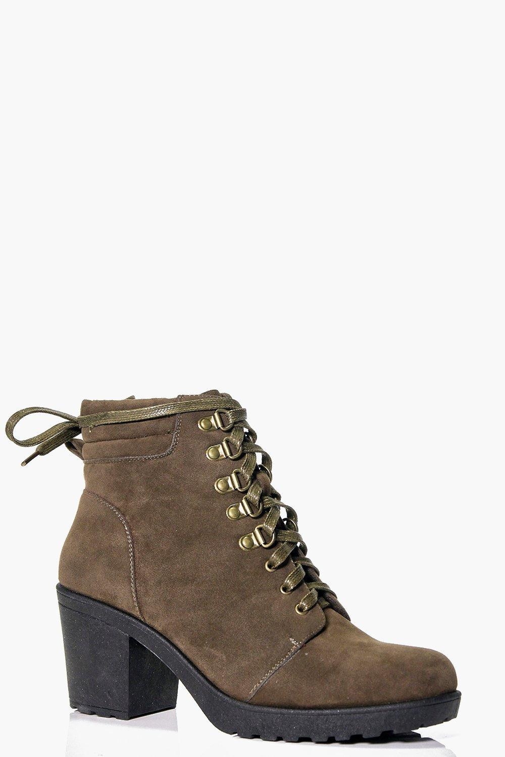 Lucy Chunky Lace Up Hiker