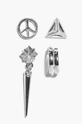 Grace Peace And Prism Stud And Cuff Set