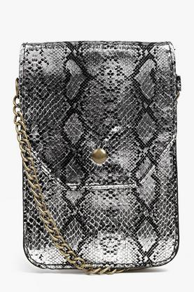 Rosie Faux Snake Festival Cross Body Bag