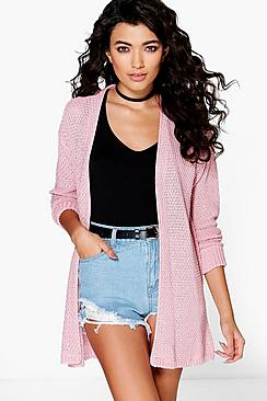 Lois Loose Stitch Edge To Edge Cardigan