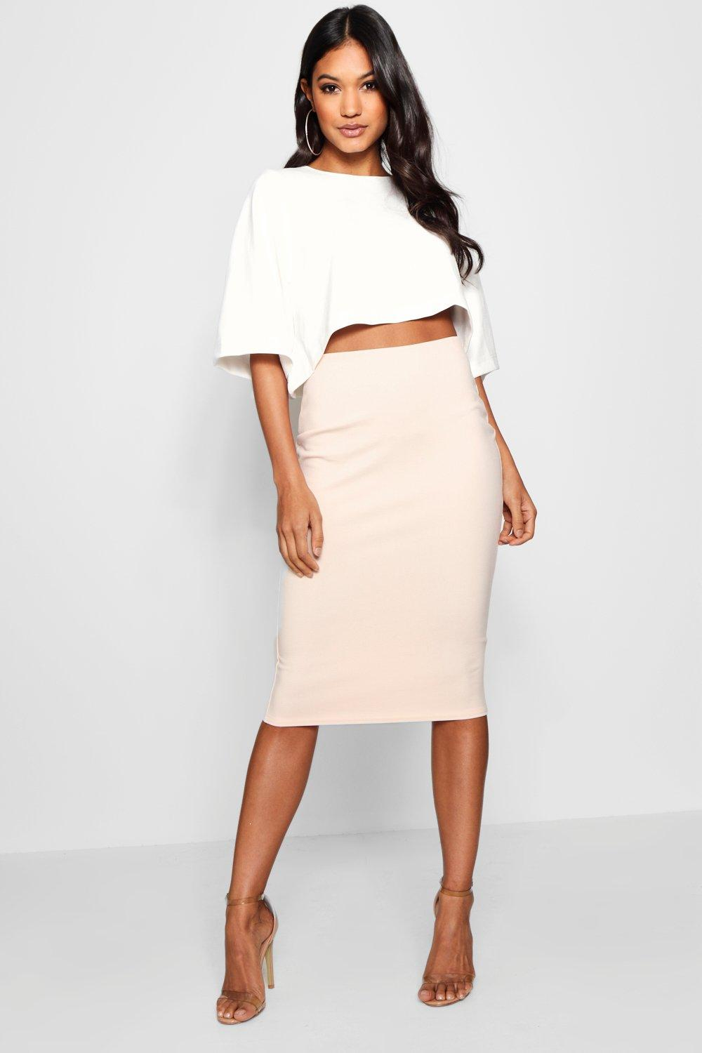 Lexi Boxy Crop And Midi Skirt Co-Ord