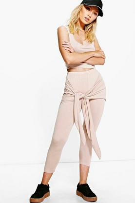 Rita Tie Waist Legging and Top Co-Ord Set