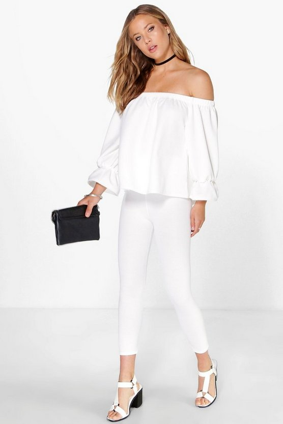 Mandy Rouche Sleeve Off The Shoulder Co-ord