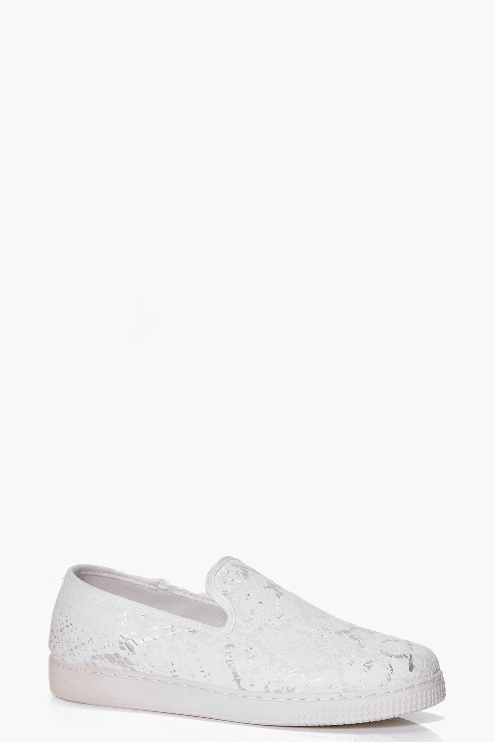 Slip On Trainer white