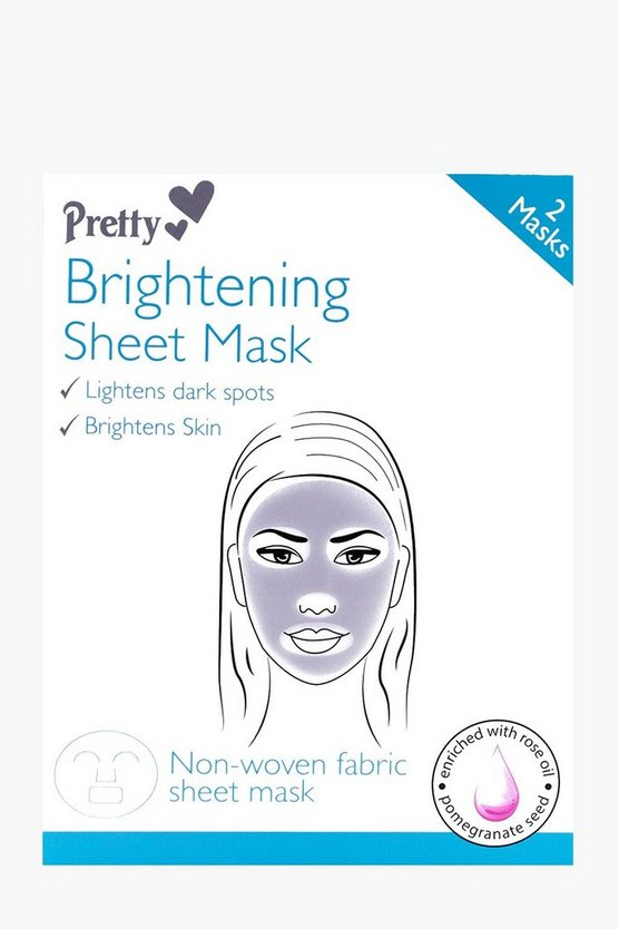 Brightening Sheet Face Mask