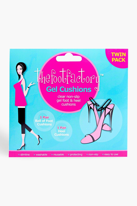 Купить Всё для красоты, Набор из двух пар силиконовых подушечек для обуви, boohoo