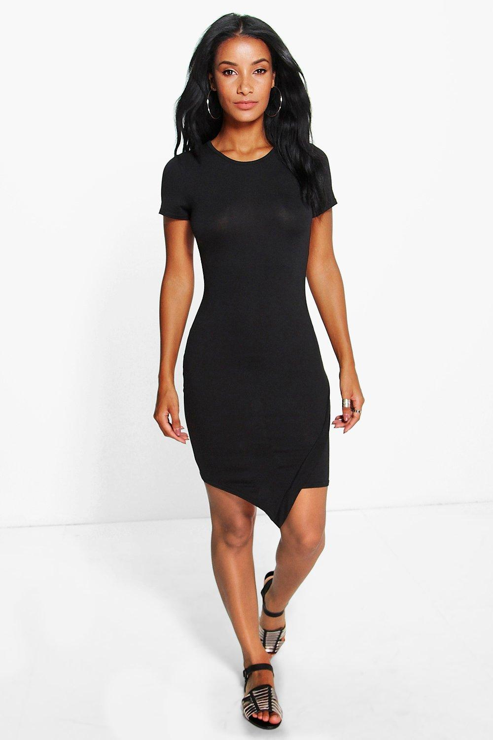 Lydia Asymetic Bodycon Dress